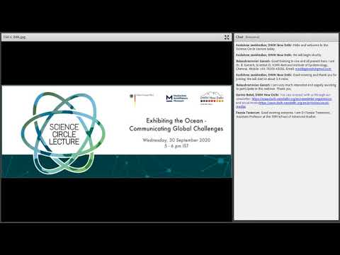 Video Recording of the Lecture