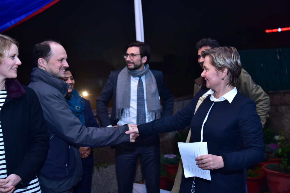DWIH New Delhi hosted a New Year's Reception to welcome 2020 with our supporters and partners. We look forward to a year of more Indo-German cooperation and collaboration.